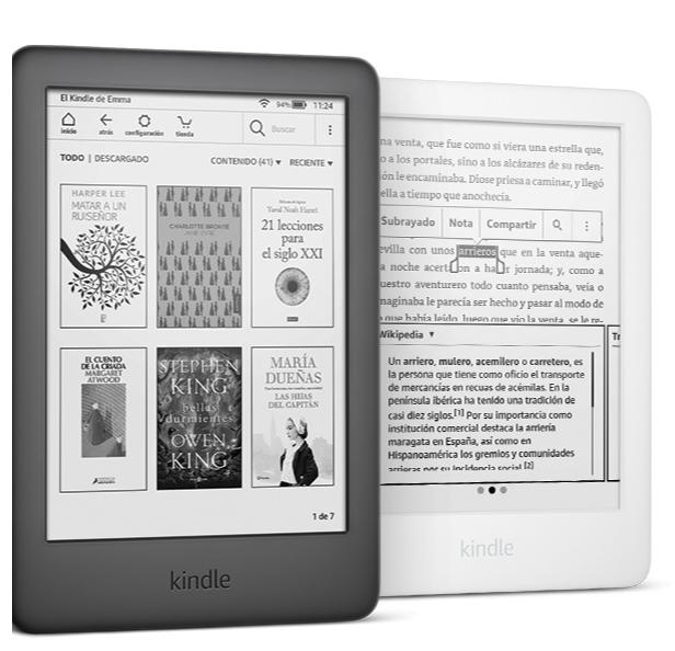 Kindle ahora con luz frontal integrada, la mejor opción 2020