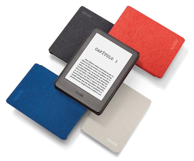 Kindle ahora con luz frontal mejor lector libros electrónicos 2020